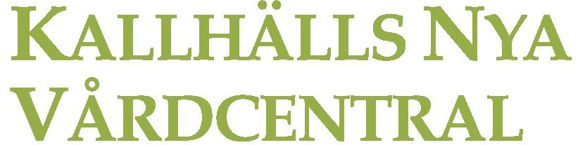 Kallhälls Nya Vårdcentral